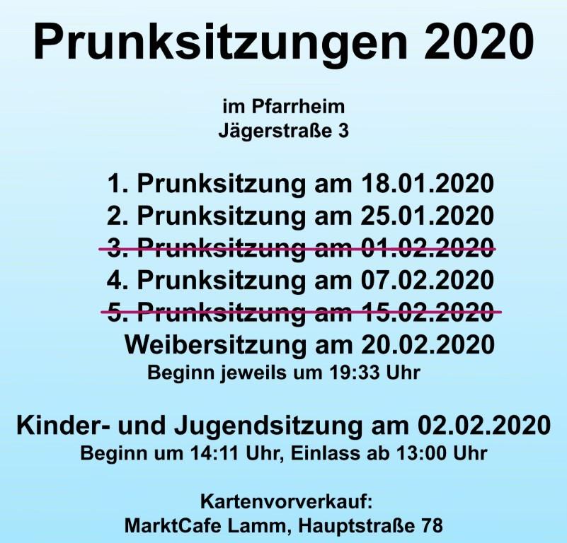 franken helau 2020